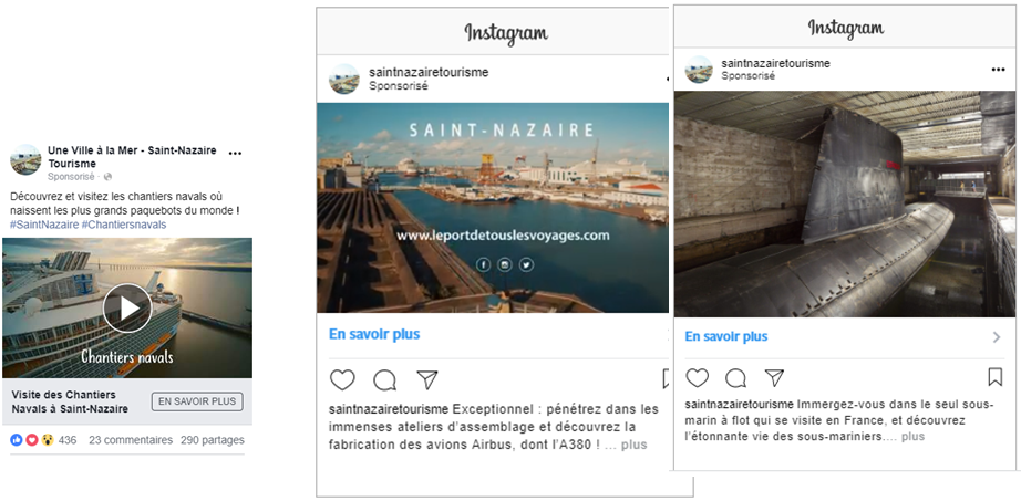 instagram tourisme local saint nazaire